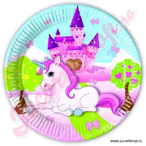 391671354.procos-unicorn-farfurie-mare-23-cm-8-bucati-85671
